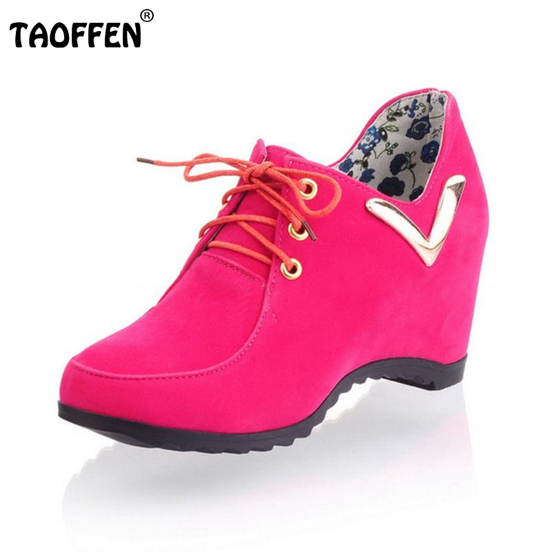 TAOFFEN free shipping high heel wedge shoes women sexy dress footwear fashion lady spring pumps P11610 hot sale 34-39 taoffen free shipping high heel shoes women sexy dress footwear fashion lady female pumps p13165 hot sale eur size 32 43