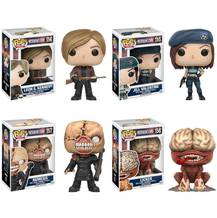 Funko Pop Resident Evil Collection Model Toy VALENTINE LICKER Action Figure Kids Boy Toys For ChildrenFunko Pop Resident Evil Collection Model Toy VALENTINE LICKER Action Figure Kids Boy Toys For Children