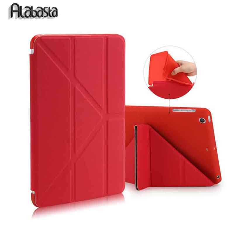 все цены на Alabasta For Apple Ipad Air 1 2 Case Pu+Tpu Cover Smart Wake Up Sleep 9.7 inch For Ipad 5 6 Soft Full Protect  +  Stylus Pen онлайн