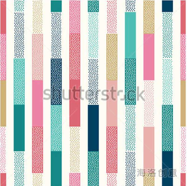 Пользовательские 3D фрески, doodle точки вертикальные полосы лоскутный узор papel де parede, гостиная диван ТВ стены спальни обои