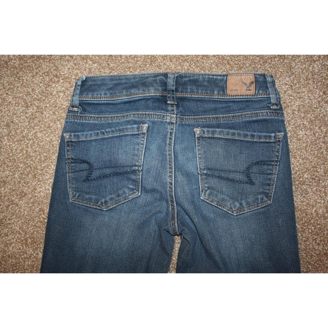 American Eagle Super Skinny Jeans 00 Short Stretch 25 X 26 Womens Jeans Aliexpress