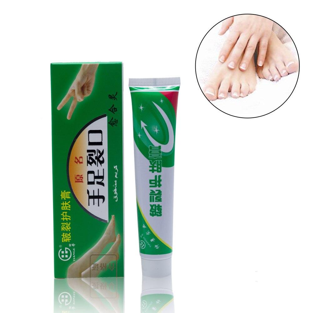 Medical Skin Care: 1pcs Hand Foot Crack Cream Heal Chapped Peeling Repair