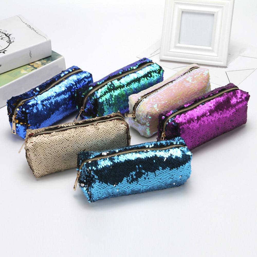 6edd37173ae4 Online Cheap 2018 Unisex Fashion Double Color Buling Sequins Handbag ...
