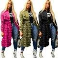 Женские куртки с длинным рукавом  модные сетчатые пальто на молнии