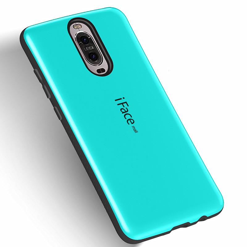 Luxury Phone Cover for Huawei Mate 9 Shockproof Cases 2 Layers Soft TPU+Plastic Impact Hybrid Covers for Huawei Mate 9 Pro Cases