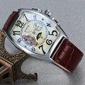 SEWOR, классические Tourbillon мужские часы, брендовые Роскошные автоматические часы, золотой чехол, мужские часы с календарем, черные механически...