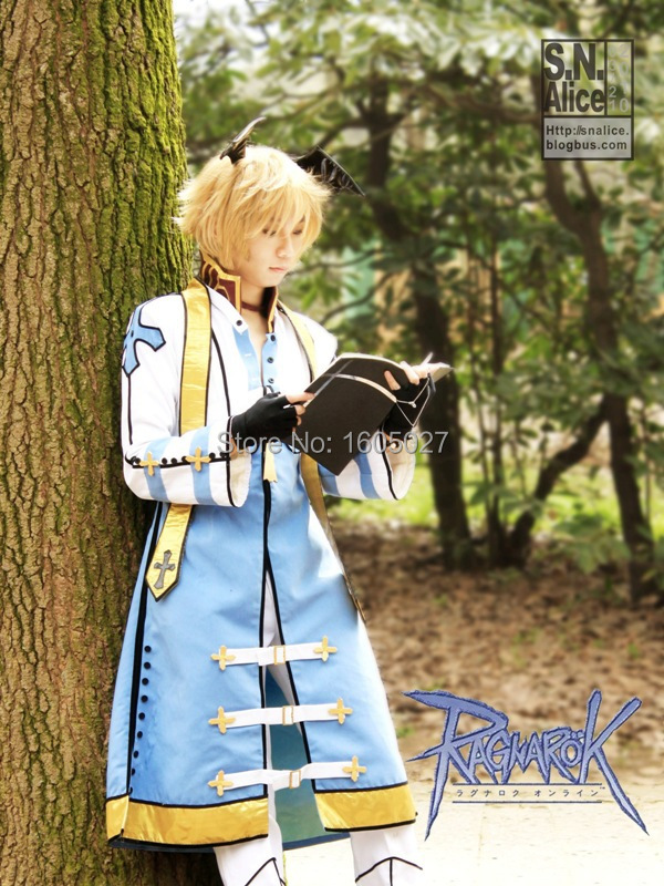Anime Ragnarok Online Hallowmas Party Dress Uniform Cosplay Clothes Costume For Women Game Clothing Any Size NEW
