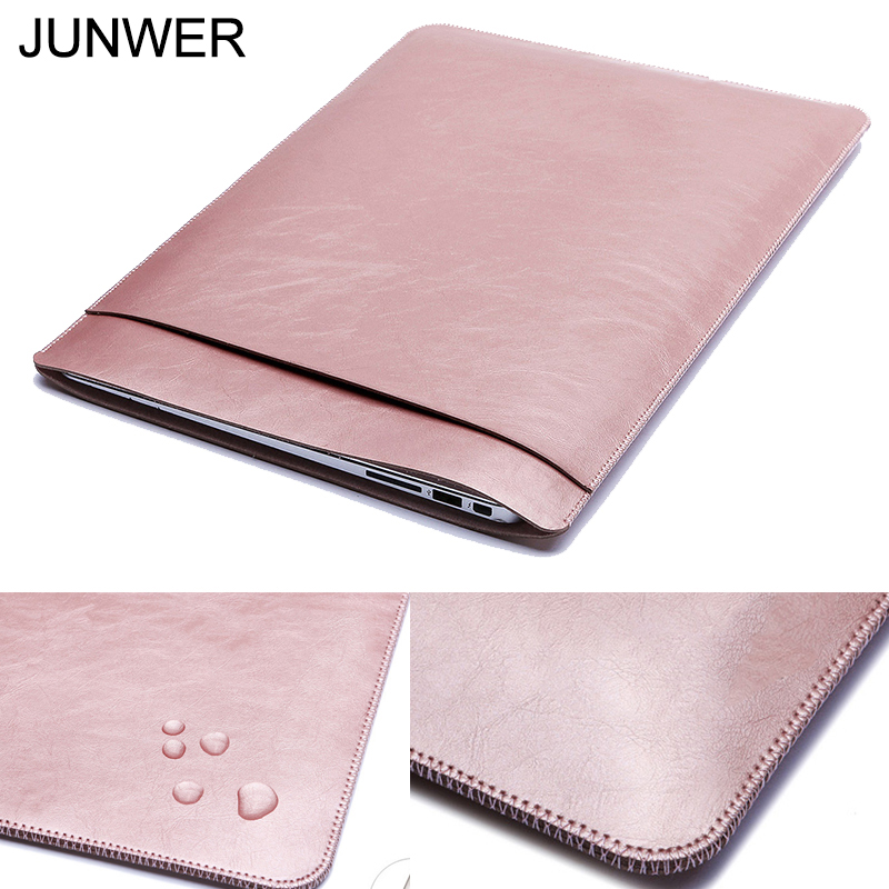 JUNWER 2017 New Laptop Sleeve case for Apple Macbook Air 13 Pro Retina 11 12 13.3 15 inc ...