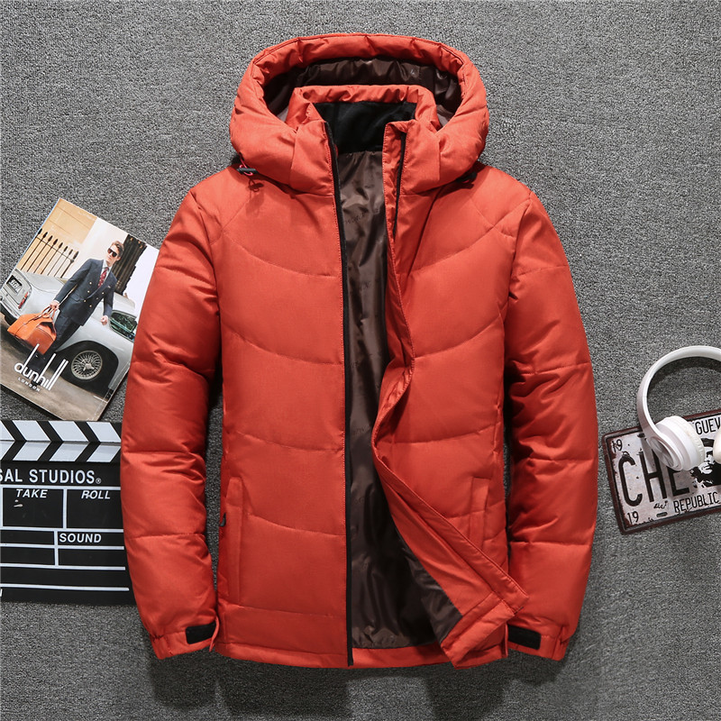 2019 Fashion Men's Down Jacket High Quality winter jacket for men snow parka coat wind breaker men's cool coat down jacket man