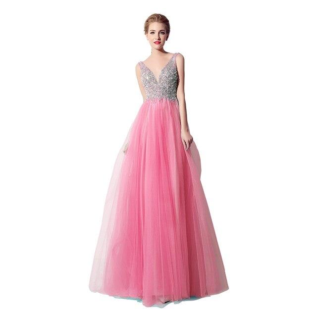 Online Shop Beauty-Emily Candy Color Long Bridesmaid Dresses 2017 A ...