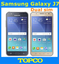 "Samsung Galaxy J7 Dual sim Original Unlocked Android Mobile Phone Octa-core 1.5GB RAM 3G&4G GSM 5.5"" 13MP 16GB WIFI Dropshipping(China)"