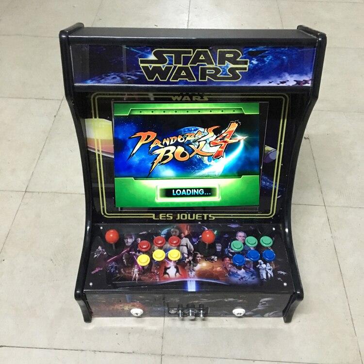 все цены на  Arcade Fighting Game Machine cabinet, Pandora Box 4  680 in 1 Game Consoles Arcade Video mini arcade game Machine  онлайн