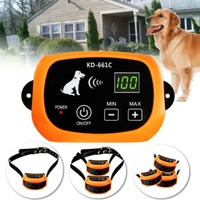 Водонепроницаемый Перезаряжаемые домашних животных сдерживания Системы Pet Воротник забор Беспроводной удаленного Беспроводной собака