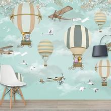 3D Cartoon Colourful Animal Wallpaper Art Wall Mural Living