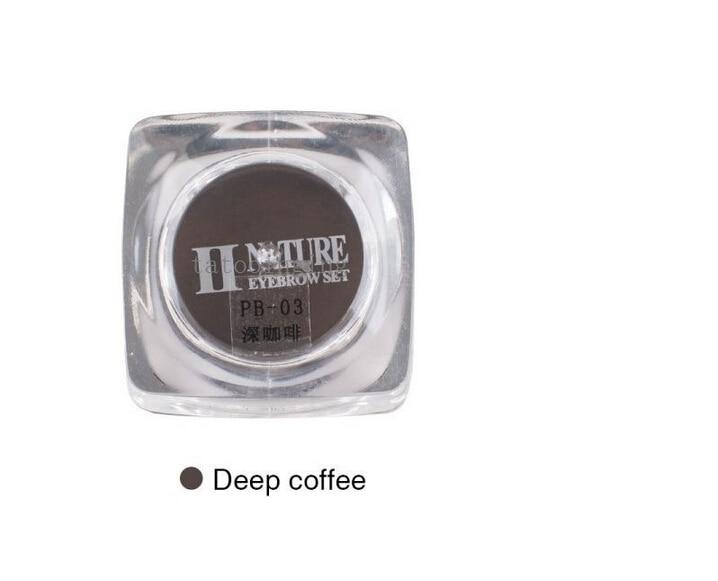 2 шт PCD оптом глубокий кофе профессиональный ручной бровей перманентные чернила U-выбрать цвет