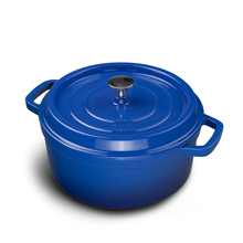 Dianjiang cast iron enamel pot stew 24CM thick cast iron pot cast iron enamel pot gas cooker general