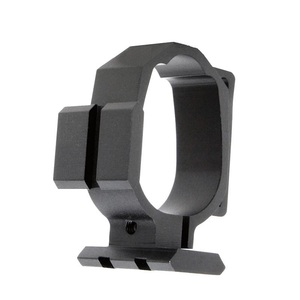 Image 3 - Tactical Barrel Band For Ruger 10/22 Two Picatinny rails & Sling Slot Expand Accessory Mounting Options Black Free Shipping