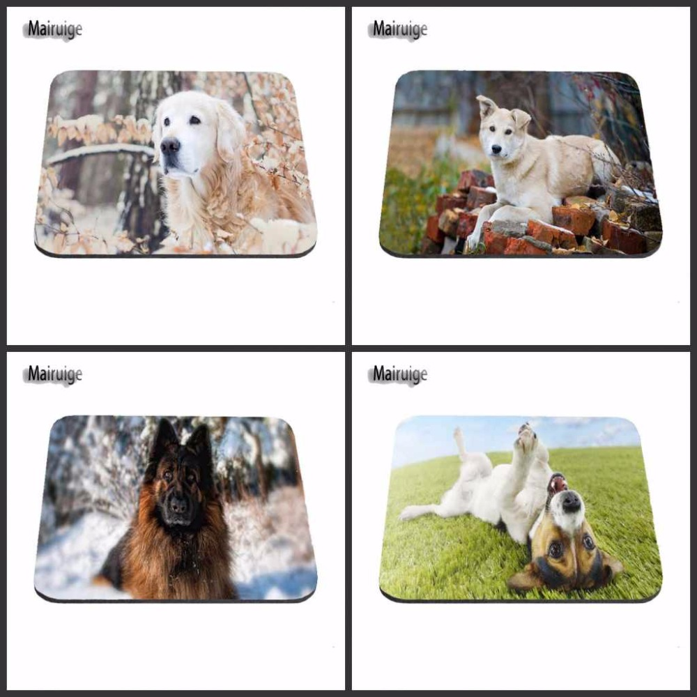 Mairuige Shop PC Laptop Thicken Gaming Cartoon Comfy Anime Dog Mouse Pad Computer Laptop Gaming Mice Mat For Gamer