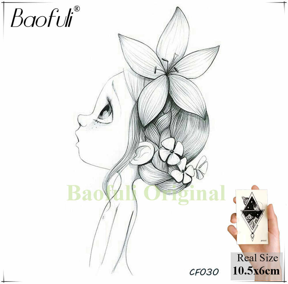 Detail Feedback Questions About Baofuli Petal Draw Girl Fairy Tale