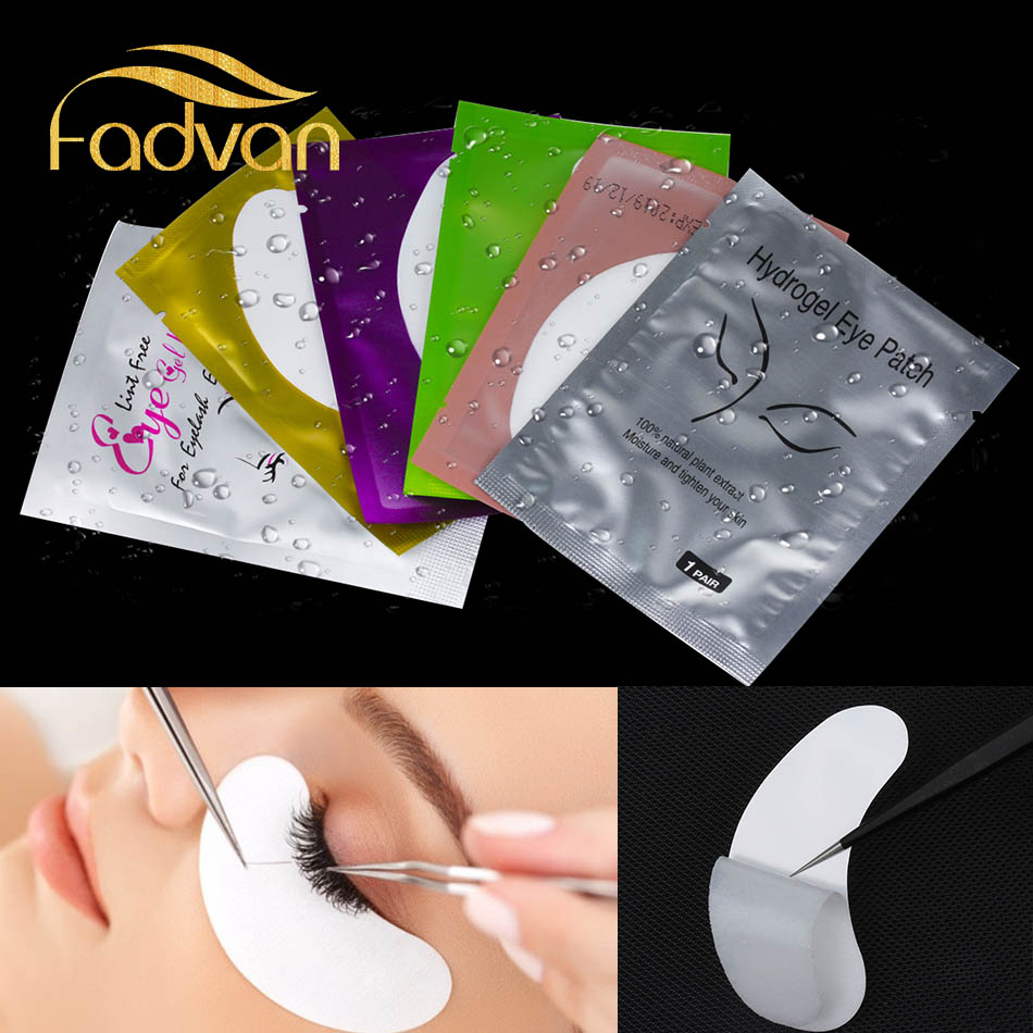 200 Pairs Set Eyelash Patch Under Eye Pad for Eye Lashes Grafting Quality Fadvan Make Up
