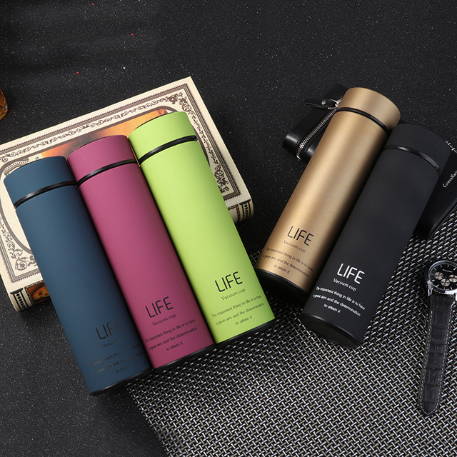 Stainless Steel Reusable Coffee Cup with Filter