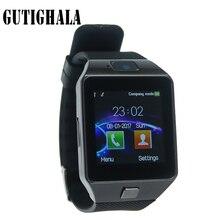 Gutighala Smartwatch Nova Moda Relógio Inteligente com Slot Para Cartão Sim Câmera DZ09 Passometer Sono Rastreador Inteligente Anti-lost