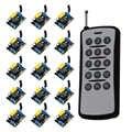 Commutateur à distance sans fil de système de commutateur à distance ON/OFF AC 220 V 1CH récepteur de Module de relais et émetteur 15CH 315/433 Mhz