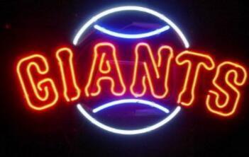 Giants Neon Light Sign Beer Bar