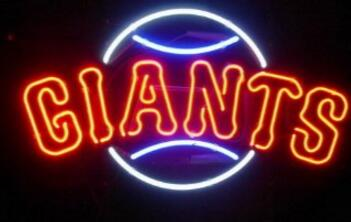 Giants Glass Neon Light Sign Beer BarGiants Glass Neon Light Sign Beer Bar