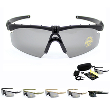 5 Colors Military Sunglasses Men Army Tactical Glasses Shoot