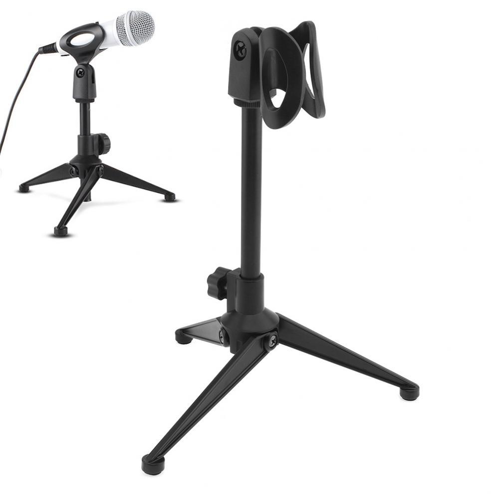 Portable Metal Microphone Stand Three-Legged