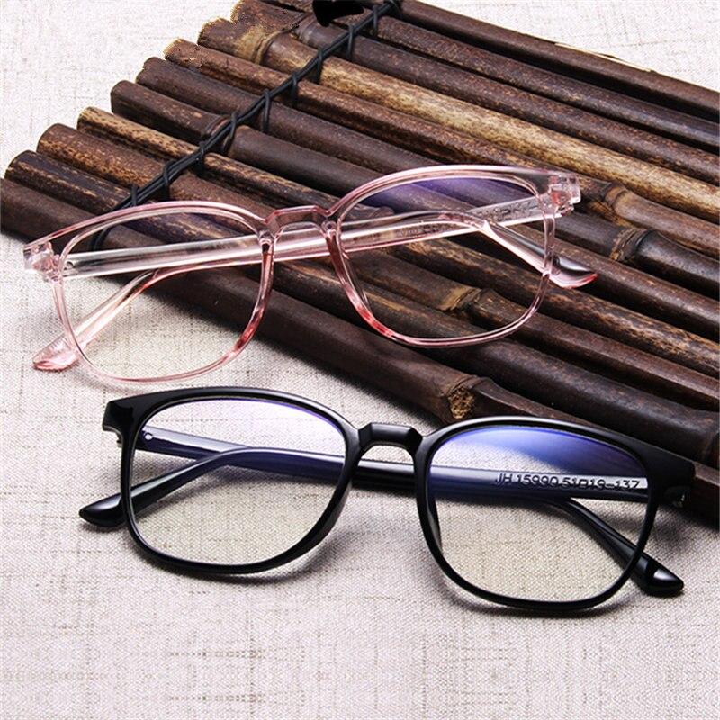 DesolDelos Transparent Glasses Frames Men Women Fake Glasses Vintage Optical Myopia Eyeglasses Frames Ladies Retro Eyewear