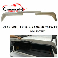 CITYCARAUTO FOR RANGER T6 T7 XTL REAR SPOILER ABS 4X4 AUTO ACCESSORIES FIT FOR RANGER T6 T7 wildtrak 2012 2017 PICKUP CAR
