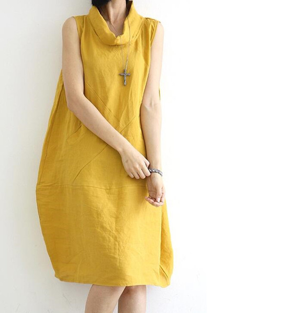 Cotton summer dresses with pockets