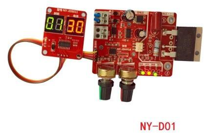 NY-D01 Spot Welding Time And Current Controller Control Panel Timing Current With Digital Display Upgrade 40A Free Shipping