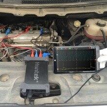 Hantek 6074BE 4 канала 70 МГц полоса пропускания автомобильный Osiclloscope цифровой USB портретный Osciloscopio диагностический инструмент