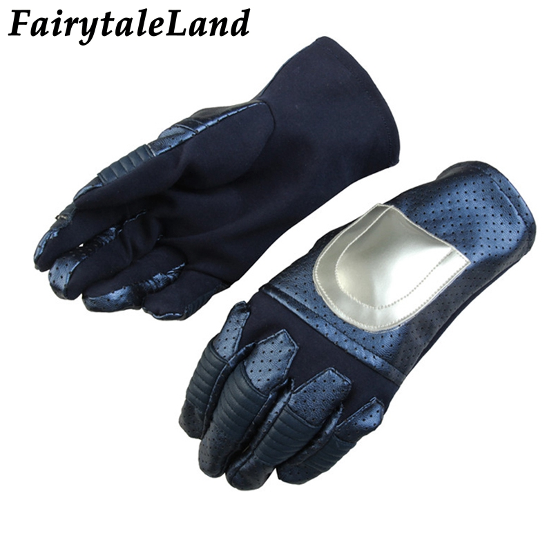 Ant-Man and the Wasp Cosplay Accessory Fancy leather cosplay gloves Superhero Wasp Gloves cosplay Hope van Dyne Wasp handwear