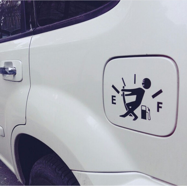 Pegatina de estilo divertido para coche, tapa de tanque de combustible, pegatinas para Mitsubishi Asx Outlander Lancer EX Pajero Evolution Eclipse Grandis