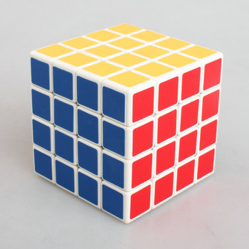 Free shipping Kathrine Cube Fourth-order white sticker affixed frosted Cube 4*4*4 magic cube for Dedicated game cube