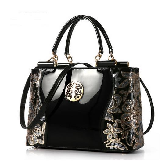 Ragcci new women leather bags fashion women handbags embroidery style print handbags women messenger bag pouch