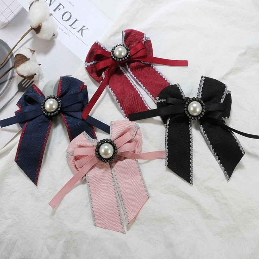 Bowknot Bows Cravat Bowtie ริบบิ้น Pour Homme คอ Pins และเข็มกลัดของขวัญแฟชั่นสำหรับผู้เข้าพักชุด Badge ผู้หญิง