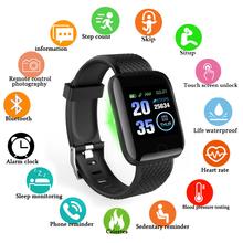 D13 smart watch mężczyźni ciśnienie krwi wodoodporny Smartwatch kobiety pulsometr zegarek z trackerem fitness sportowe dla Android IOS tanie tanio Passometer Fitness tracker Uśpienia tracker Wiadomość przypomnienie Przypomnienie połączeń Naciśnij wiadomość Budzik Tętna Tracker