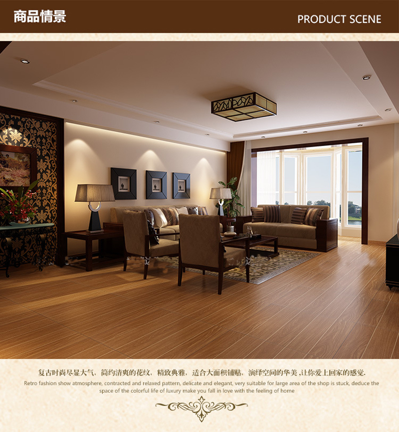 European Style Antique Brick American Rustic Floor Tile Bedroom - What is the invoice price online tile store