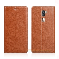 Invisible Magnet Genuine Leather Case For Letv LeEco Cool 1 Dual Leeco Coolpad Cool1 Phone Flip