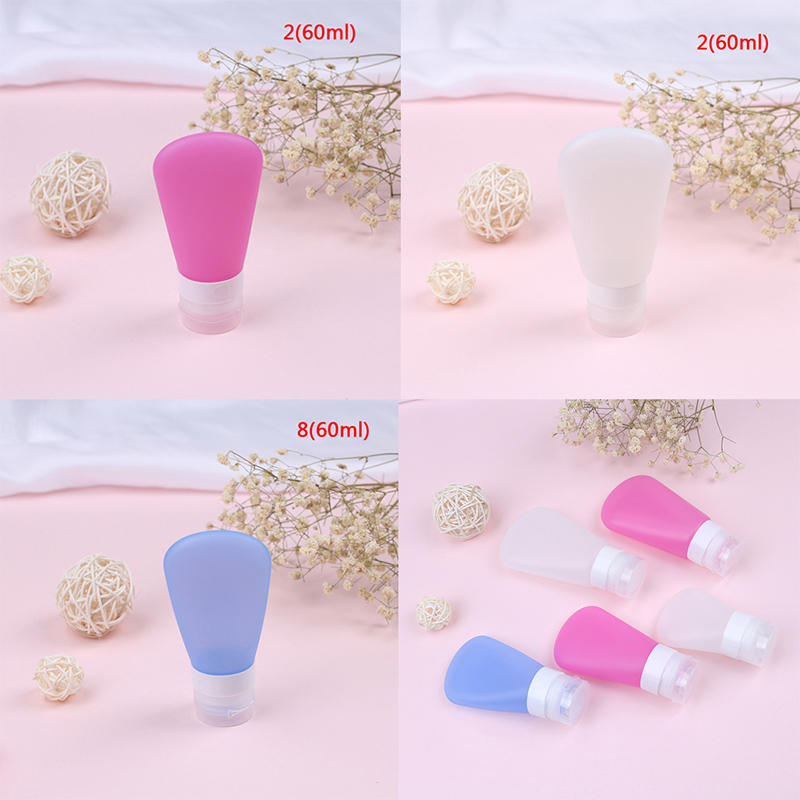 New Hand Cream Makeup Storage Containers Promotions Frosted Silicone Cosmetic Jars Refillable Bath Salt Shampoo Bottles And To Have A Long Life. Bathroom Hardware