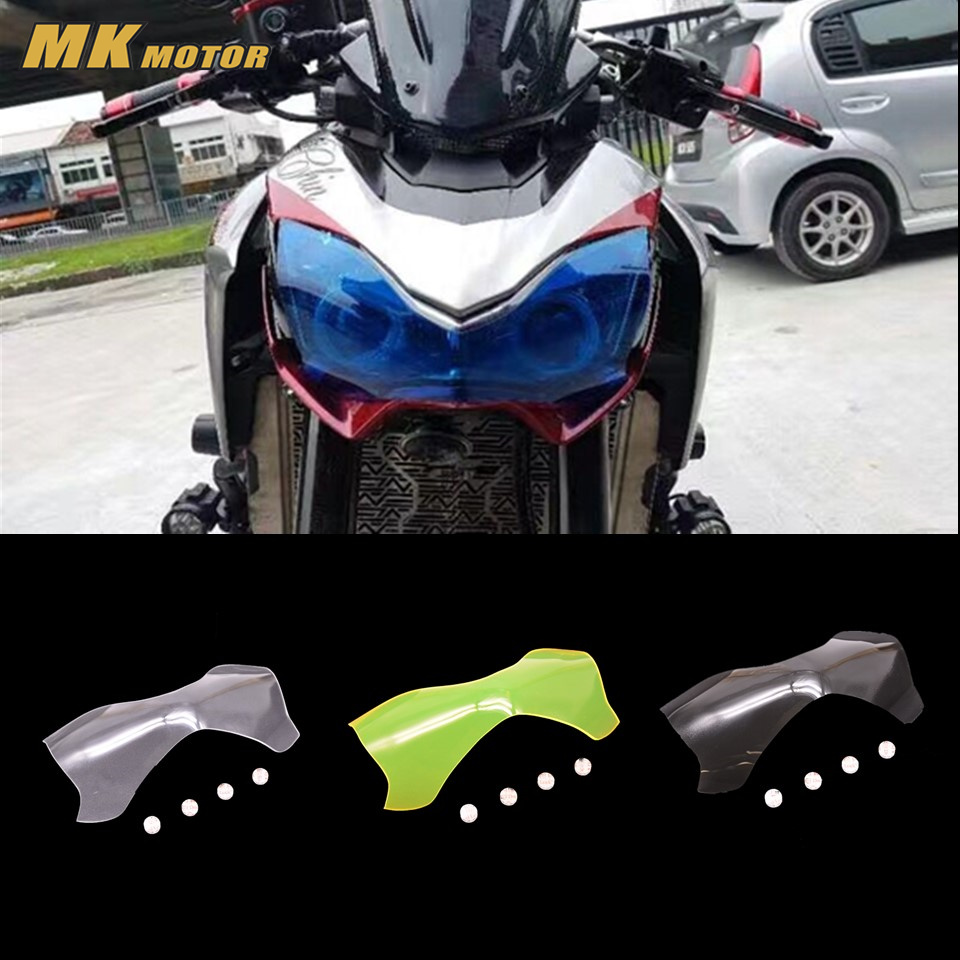 Z 900  Motorcycle Parts Headlight Protector Cover Screen Lens For KAWASAKI Z900 z900 2017 mtkracing for kymco ak550 motorcycle parts headlight protector cover screen lens ak 550 2017 2018