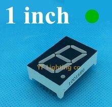 Pure green 1 inch 7 Segment LED Display 1 Bit Digital Tube 1