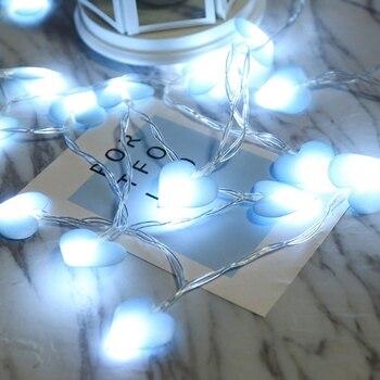 Holiday Lights LED Home Outdoor Holiday Christmas Decorative Wedding xmas Love String Fairy Curtain Garlands Strip Party Lights 220v 138pcs led fairy string lights star curtain lights waterproof outdoor christmas decorations for home wedding garlands natal