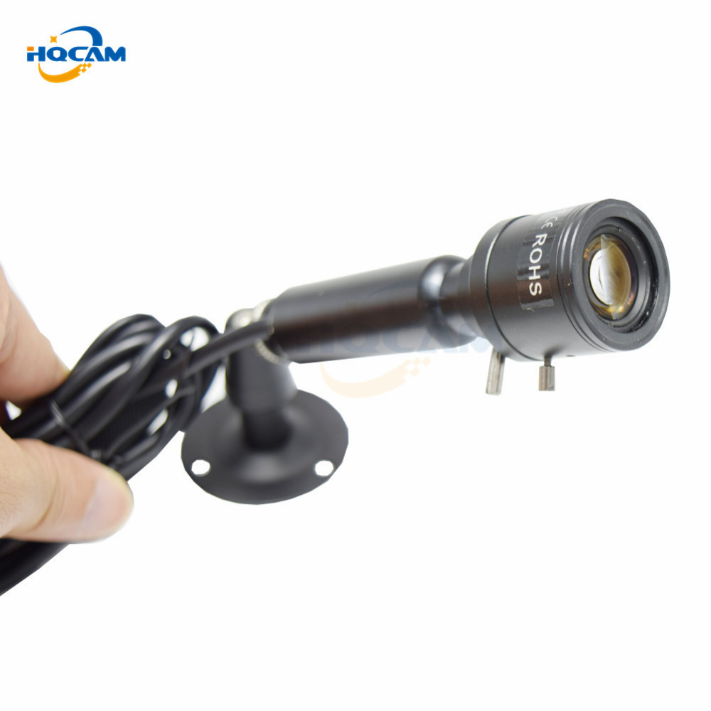 HQCAM SONY Effio 700TVL CCD OSD menu Mini Bullet Camera Indoor Security Camera 4140+810811 2.8-12mm manual varifocal zoom lens