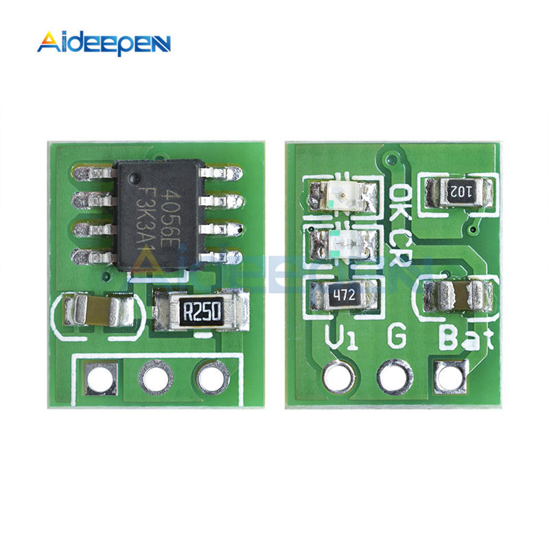 DD08CRMB Mini DC 5V 1A Lithium Battery Charger Board Li-ion 18650 Solar Board RC Remote Control Toy Charging Module